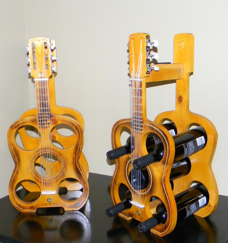 should we introduce a bass guitar wine rack?